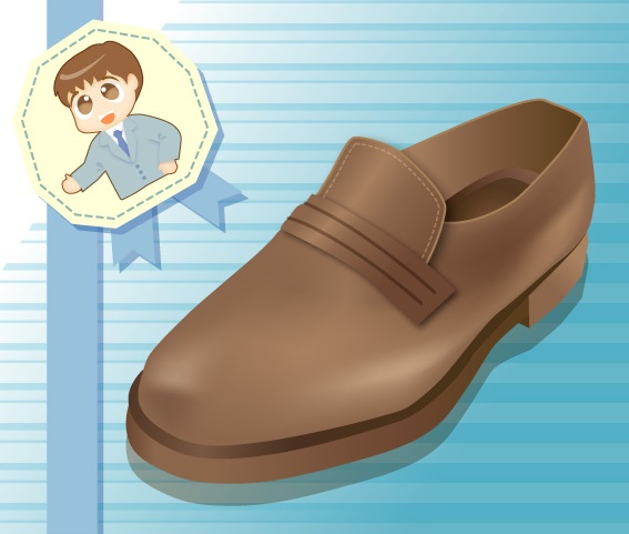 革靴の手入れ